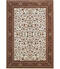 "asbury looms antiquities isphahan 1900 01415 912 ivory 7'10"" x 10'6"" area rug"