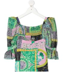 camicia m/corta blouse