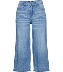 pantaloni culotte in denim leggero (blu) - bpc selection