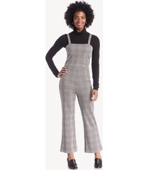 sanctuary women's check ya later jumpsuit earthstone size xs from sole society