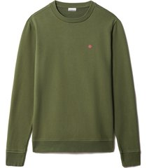 napapijri sweater balis groen regular np0a4ew7/g2c