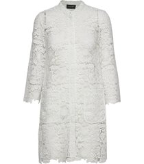 3180 - new galisa a kort klänning vit sand