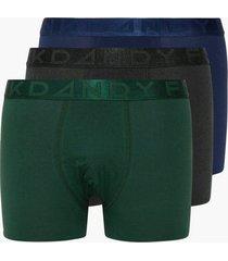 frank dandy 3 pack legend organic boxer boxershorts multicolor
