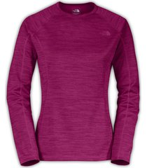 camiseta mujer warm l/s crew neck the north face