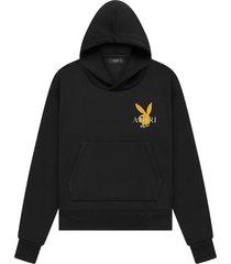 playboy bunny cover hoodie black
