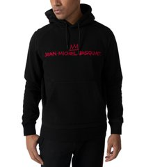 sean john men's jean michael basquiat fleece hoodie