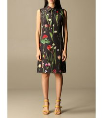boutique moschino dress moschino boutique short dress in cady with botanical pattern