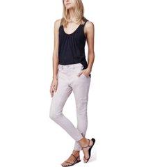 b new york zip-ankle cargo pants