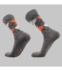 calcetin de vestir de alpaca gris andina outdoors