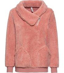 maglione effetto peluche (rosa) - rainbow