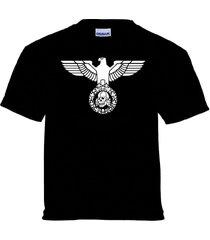 iron eagle deaths head totenkopf skull t-shirt 1%er outlaw biker chopper kulture