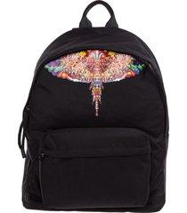 marcelo burlon multicolor wings backpack