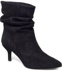veronica shoes boots ankle boots ankle boot - heel svart pavement