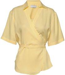 nadinia blouses short-sleeved geel tiger of sweden