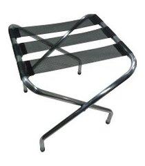 suporte de mala zaka alumínio reforçado até 100kg preto
