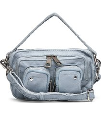 helena washed light blue bags top handle bags blauw nunoo