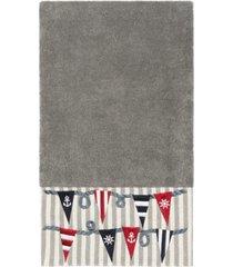 linum home 100% turkish cotton ethan embellished bath towel bedding