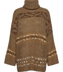 dypvag knit sweater 20-04 turtleneck polotröja multi/mönstrad holzweiler