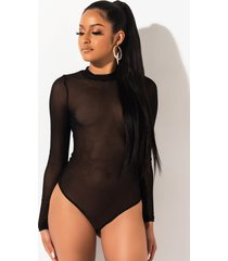 akira she's gotta have it mesh bodysuit