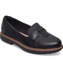 raisie foster loafers låga skor svart clarks