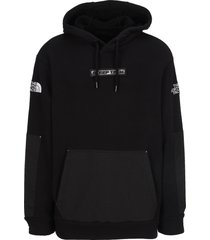 north face black series steep tech graphic hoodie
