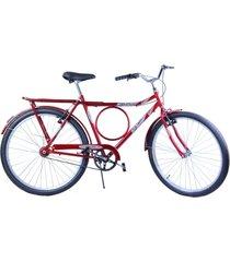 bicicleta dalannio bike aro 26 masculina barra circular vb potenza vermelha