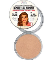 bonnie lou manizer the balm - iluminador facial dourado