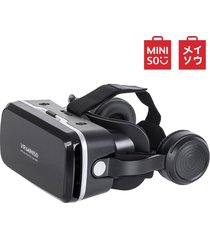 miniso smart 3d stereo trae tus auriculares gafas vr modelo g04eb - negro