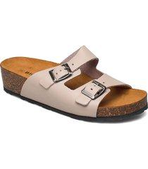 biabetty wedge buckle sandal shoes summer shoes flat sandals rosa bianco