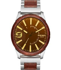 reloj diesel rasp brown hombre dz1799