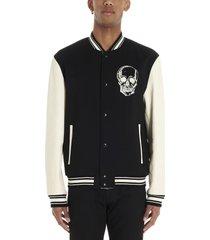 alexander mcqueen college jacket