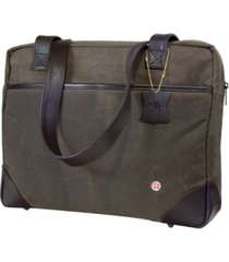 token hudson waxed shoulder bag