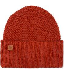 frye and co. garter stitch beanie hat