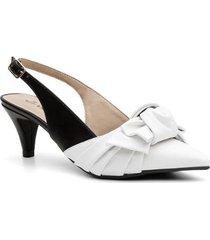 9763e14733 Scarpins - Decorativo - Branco E Preto - 1 produtos com até 29.0 ...