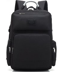 mochila/ moda hombres oxford alta calidad portátil-negro