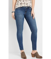 maurices womens denimflex™ medium wash low rise jegging blue