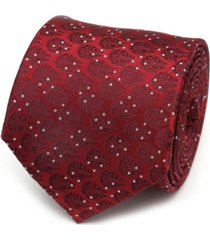 star wars millennium falcon dot men's tie