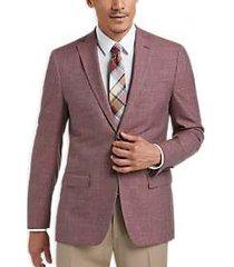 lauren by ralph lauren red modern fit sport coat