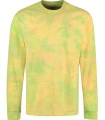 john elliott smarties cotton crew-neck t-shirt