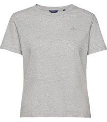original ss t-shirt t-shirts & tops short-sleeved grå gant