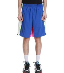 vetements shorts in blue polyester