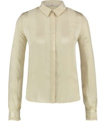 tess blouse crema