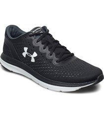 ua charged impulse shoes sport shoes running shoes svart under armour
