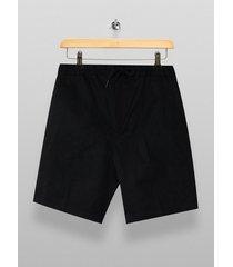 mens black classic jersey shorts