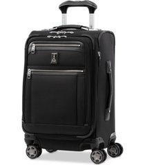 "travelpro platinum elite 20"" business plus softside carry-on spinner"
