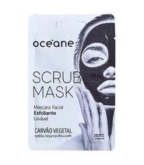 máscara esfoliante facial océane - scrub mask