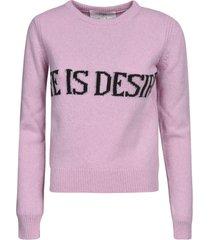 alberta ferretti life is desire cropped sweater
