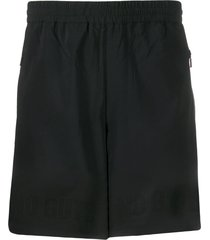 blackbarrett relaxed-fit multi-pocket track shorts