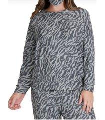 coin 1804 women's plus size raglan sweatshirt