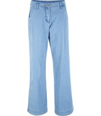 pantaloni effetto jeans  loose fit (blu) - bpc bonprix collection